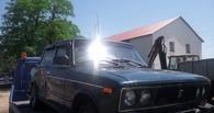 В Омске украли автомобиль, который год простоял на улице