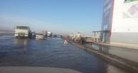 Из-за подтопления омичам советуют не ездить по дороге за «Континентом» (фото)