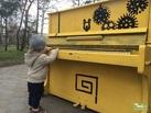 В Театральном сквере Омска выставили фантазийные пианино