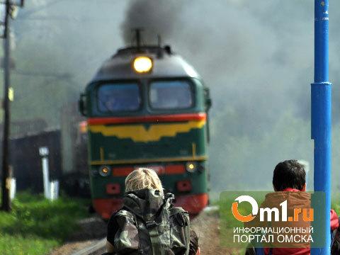 В Омской области ночью пассажирский поезд сбил жителя Калачинска
