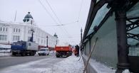 Чтобы хорошо убирать Омск от снега, нужно дополнительно 15-20 самосвалов