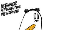 Привидения с багетами: журнал Charlie Hebdo опубликовал карикатуру на серию терактов в Париже