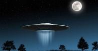 В Омской области над Иртышом заметили НЛО