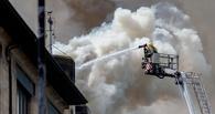 В Омске на Левом берегу загорелась школа