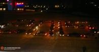 Омичей с Новым годом поздравили таксисты