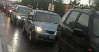 В ДТП у здания мэрии столкнулось 4 автомобиля