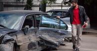 В центре Омска произошла авария с участием шести машин