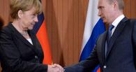 Владимир Путин сделал Ангелу Меркель «человеком года» по версии The Times