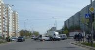 В Омске на 20-й Линии произошло ДТП с тремя авто