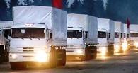 Киев разрешил России ввозить гуманитарную помощь только на машинах Красного Креста