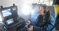 Для патрулирования трассы «Тюмень-Омск» задействовали вертолет