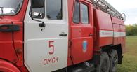 При пожаре в Омской области погиб мужчина