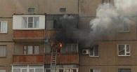 Из горевшего дома возле цирка спасли 6-х омичей