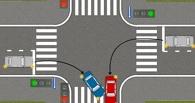 Омичи массово нарушали правила проезда перекрестков