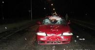 В Омской области водитель Nissan насмерть сбил пешехода, гуляющего по центру проезжей части
