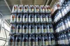 Ночью в Омске сгорел склад с пивом «Балтика»