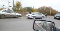 Из-за слишком торопливого водителя на Тюкалинском тракте образовалась километровая пробка