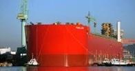 В Южной Корее строят самое большое в мире судно