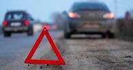 В Омске в автобус с 15-ю пассажирами врезалась автоледи на иномарке
