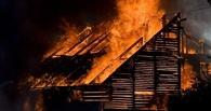 В селе Большой Атмас сожгли дом детоубийцы