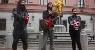 Уличные музыканты устроили акцию протеста против «полицейского беспредела» в Москве