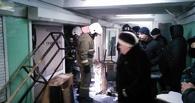 В центре Омска загорелся киоск в подземном переходе