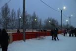 В Центральном округе Омска открыли еще один каток