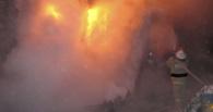 В Омской области добровольцы спасли из огня четырех человек