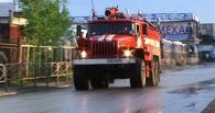 В Омской области чуть не сгорел отдел полиции