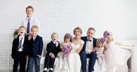 Омич, в одиночку воспитывавший шестерых детей, снова женился