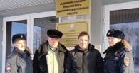 Омские курсанты помогли пенсионеру восстановить право на землю