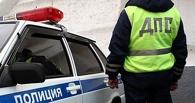 Пьяный водитель, скрываясь от омских полицейских, врезался в столб