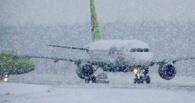 Из-за мощной метели в Москве задержаны рейсы в Омск