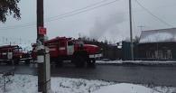 На пожаре в частном секторе Омска погиб пожилой мужчина