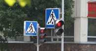 Отдельная пешеходная фаза появится на одном из перекрестков в омском Авиагородке