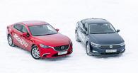 Дорогие друзья: ищем разницу между Mazda 6 и Volkswagen Passat