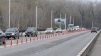 Встречные полосы на дорогах разделят сигнальными столбиками