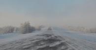 Участки дорог в Омск из Казахстана закрыты из-за непогоды