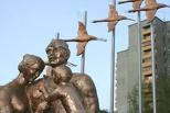 В Омске появился памятник семье фронтовика