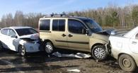 Очевидцы массовой аварии на трассе Омск – Черлак: «Все службы действовали очень быстро»