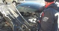 Омская полиция возбудила дело по факту поджога «Мерседеса»