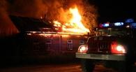 В Омске пять человек погибли при пожаре в частном доме