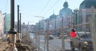 Паводок внес коррективы в реконструкцию Любинского проспекта в Омске