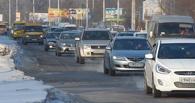 Жертвы ям: из-за ДТП на Лукашевича омичи застряли в пробке