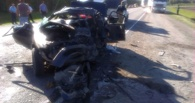 На трассе «Омск – Черлак» в крупной аварии погибли дети