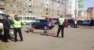 За сутки в Омске в ДТП пострадали два байкера (Фото)