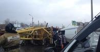 Эксперт назвал возможные причины падения строительного крана в Омске