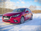 Mazda3: ах, тройка алая