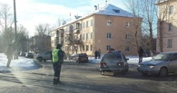 В Омске автомобиль ДПС столкнулся c «Запорожцем»